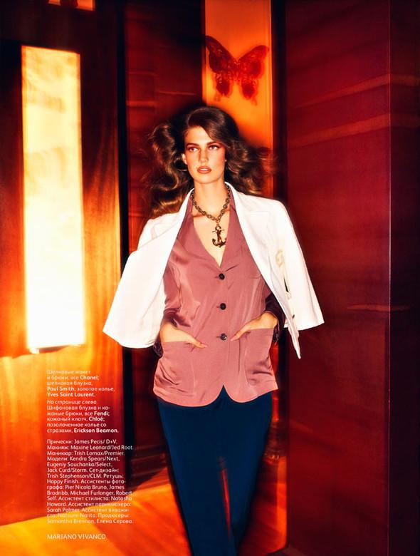 Съёмка: Кендра Спирс для российского Vogue. Изображение № 9.