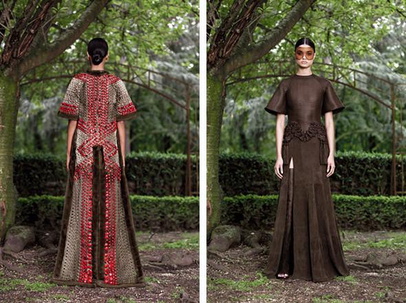 Кутюр в деталях: Маски, бисер и кожа в коллекции Givenchy. Изображение № 23.