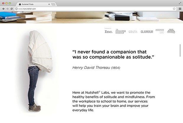 Дизайнер создал портативный кокон для отдыха на людях. Изображение № 5.