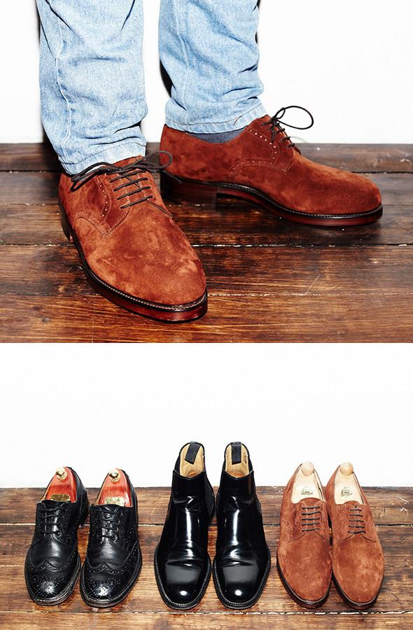 Изображение 22. Гардероб: Анатолий Хмелевской, совладелец компании British Shoes.. Изображение № 8.