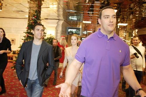 Эндриан Пол и Александр Невский в Korston Hotel Moscow. Изображение № 5.