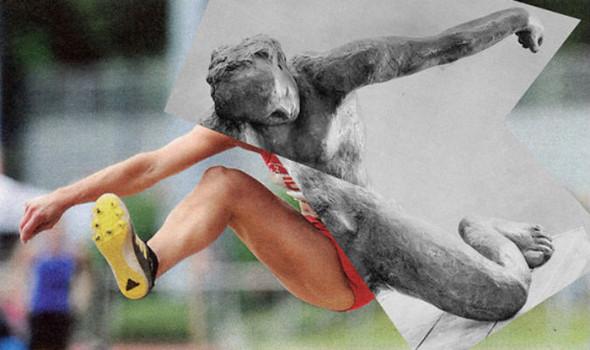 Новая атлетика: Олимпийские виды спорта в коллажах Йена Ульриха. Изображение № 5.