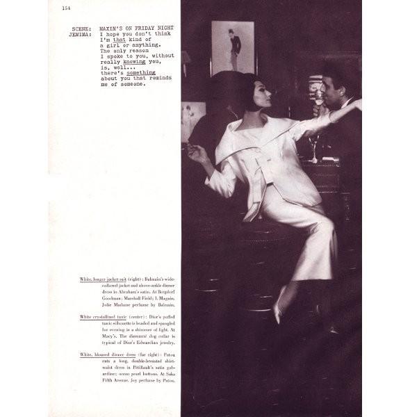 Архивная съёмка: Одри Хепберн для Harper's Bazaar, 1959. Изображение № 5.