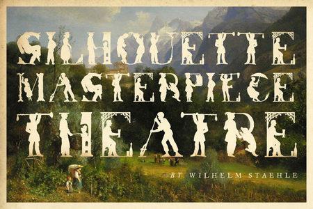 Театр шедевральных силуэтов отWilhelm Staehle. Изображение № 1.
