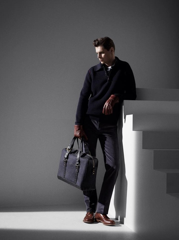 Alfred Dunhill lookbook casual wear Autumn Winter 2012. Изображение № 6.