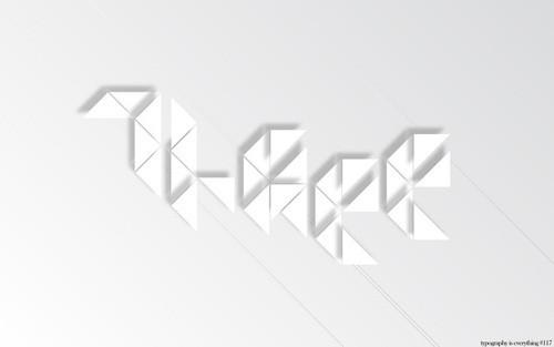 18 шрифтов дизайнерской группы Behance. Изображение № 9.