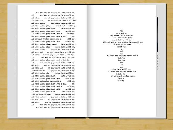 Фанат Стивена Кинга опубликовал роман Джека Торренса. Изображение № 2.