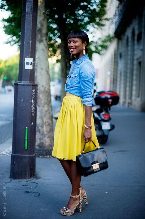 Уличный стиль на Неделе высокой моды в Париже. Изображение № 133.
