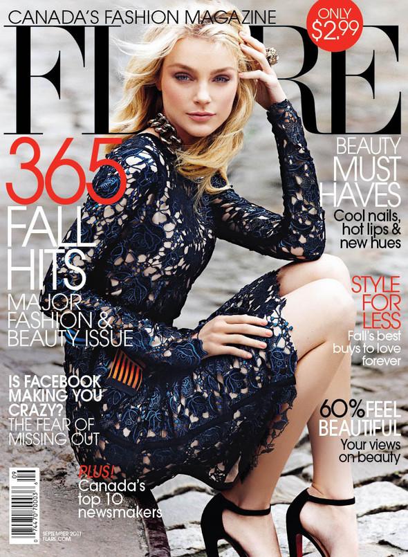 Обложки: Elle, Flare, Harper's Bazaar и Numero. Изображение № 2.