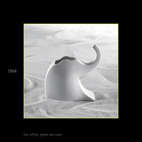 Ваза Fun o'Fant 26 см, 1994, Johan van Loon. Изображение № 32.