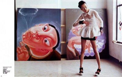 Сила искусства – China Vogue, June 2008. Изображение № 5.