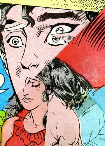 Зловещие и мрачные ретро-иллюстрации, переделанные из детских комиксов. Изображение № 8.