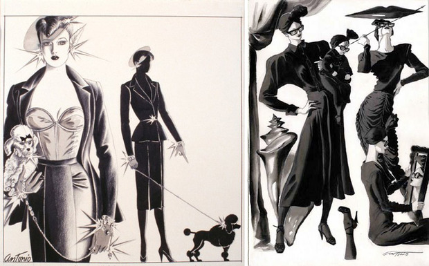 Antonio Lopez - легендарный fashion-иллюстратор. Изображение № 8.