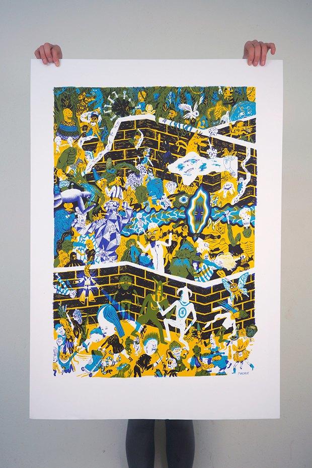 50 постеров, которые вдохновляют заняться шелкографией. Изображение № 18.