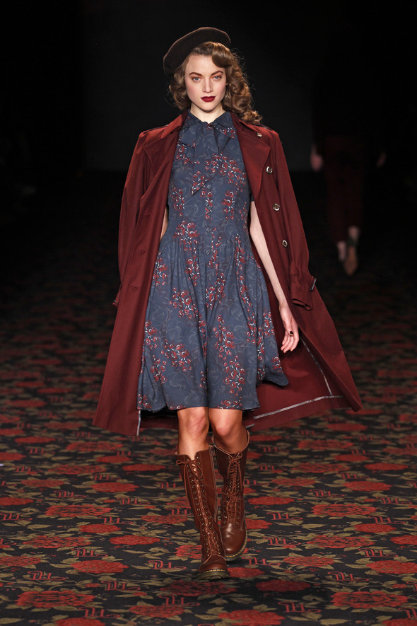 Berlin Fashion Week A/W 2012: Lena Hoschek. Изображение № 22.