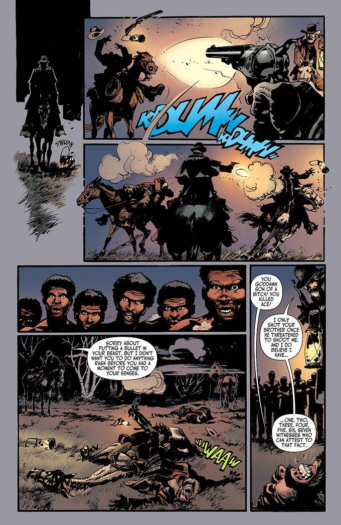 Появился комикс по «Джанго освобожденному». Изображение № 5.