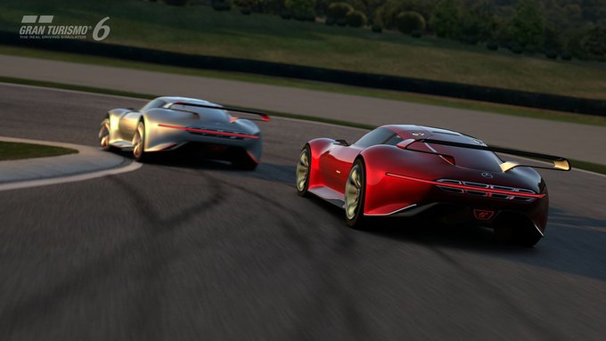 Mercedes-Benz разработала концепт спорткара для новой части Gran Turismo. Изображение № 24.