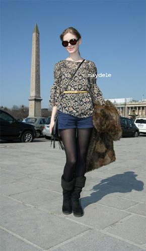 Нерабочее время: Блоги об уличном стиле моделей. Изображение № 36.