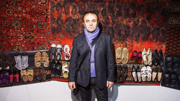 Аладдин Гарунов на церемонии открытия выставки номинантов «Премии Кандинского». Изображение № 3.