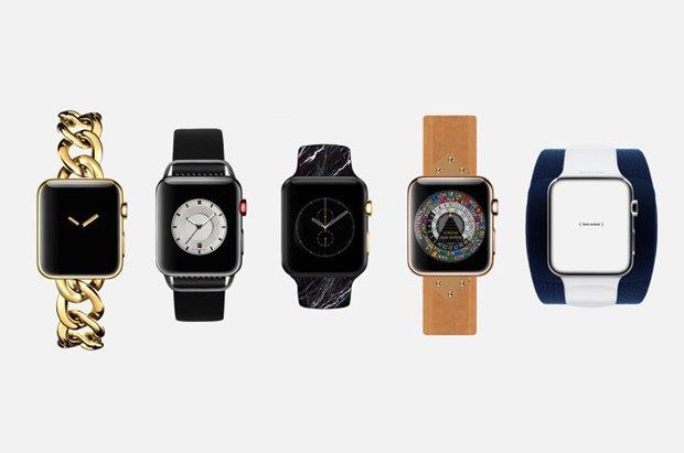 Концепт дня: Apple Watch в стиле модных брендов. Изображение № 1.