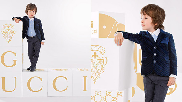 Все лучшее детям: лукбуки D&G, Gucci, John Galliano, Burberry. Изображение № 42.