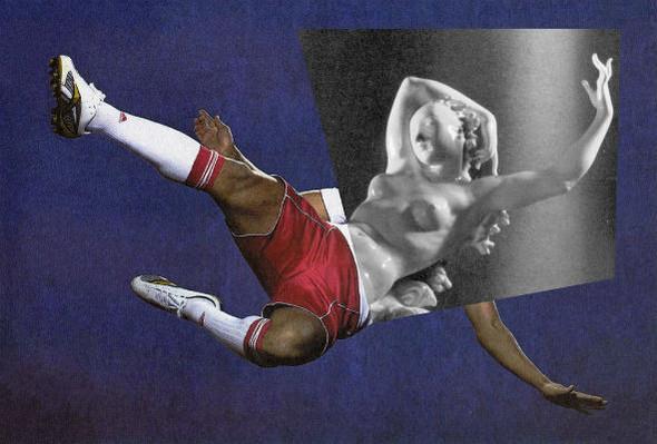 Новая атлетика: Олимпийские виды спорта в коллажах Йена Ульриха. Изображение № 1.