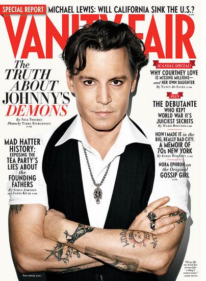 Обложки: Vanity Fair и GQ. Изображение № 2.