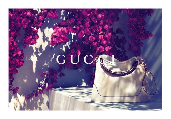 Karmen Pedaru и Lenz von Johnston для рекламы Gucci Cruise 2012. Изображение № 6.