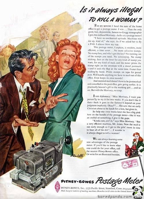 Винтажная реклама, которая бы сегодня оказалась под запретом. Изображение № 25.