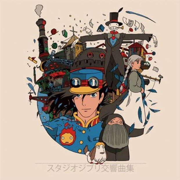 Mondo выпустит альбом с музыкой из аниме Студии Гибли. Изображение № 3.