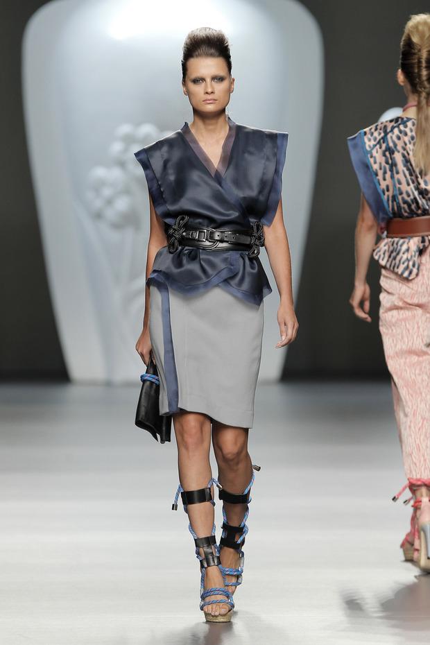 Madrid Fashion Week SS 2013: ANA LOCKING . Изображение № 8.