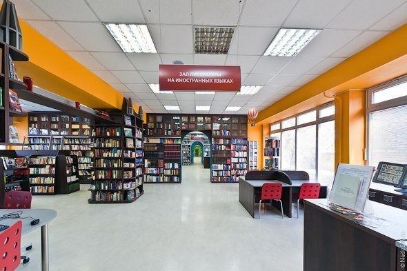 Изображение 2. Библиотека для молодежи.. Изображение № 2.