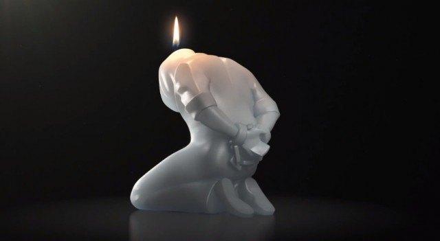 Amnesty International собирает средства продажей свечей. Изображение № 1.