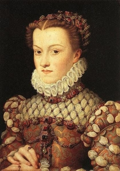 «Портрет Елизаветы Австрийской» Франсуа Клуэ . Изображение № 8.
