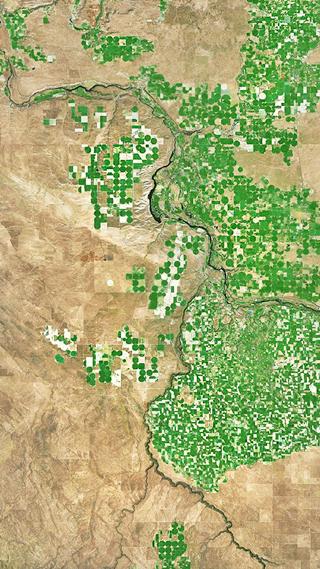 Сайт дня: обои для айфонов из спутниковых карт. Изображение № 19.