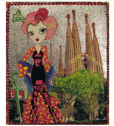 Интересное искусство из Барселоны. Изображение № 6.
