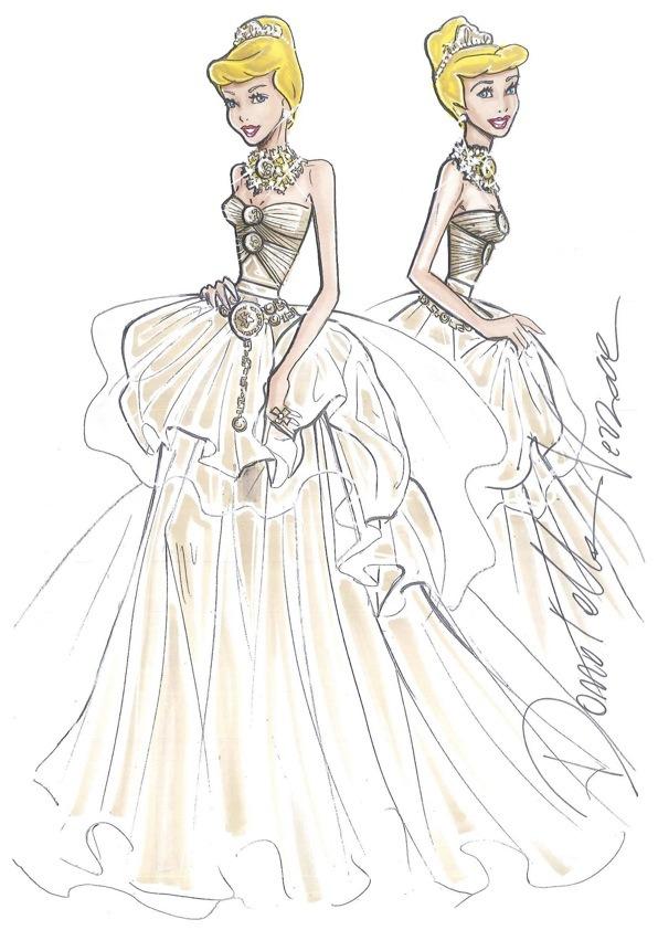 10 платьев диснеевских принцеcc от мировых дизайнеров в Harrods. Изображение №4.