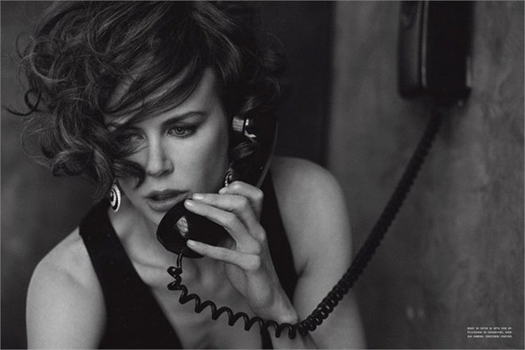 Nicole Kidman for Italian Vogue. Изображение № 1.