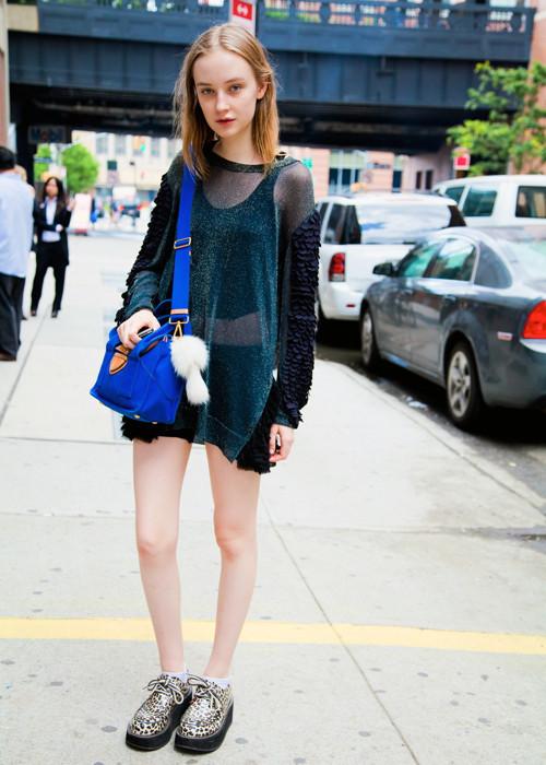 City Looks: Стиль моделей в блоге Bonae L'Amour. Изображение № 11.