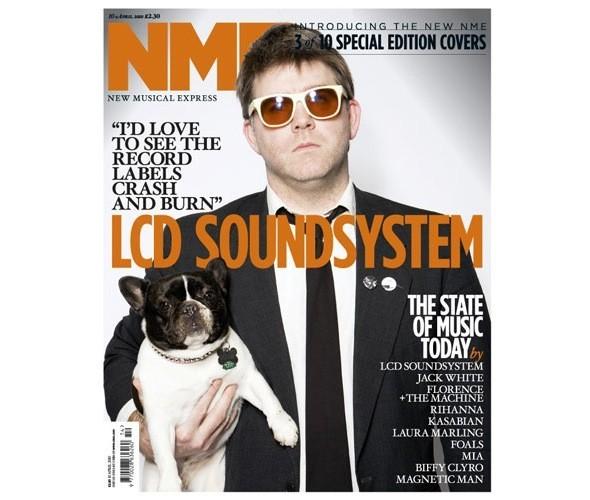Новый дизайн и десять обложек NME. Изображение № 5.