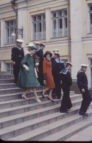 1959 г. Christian Dior в СССР. Изображение № 6.