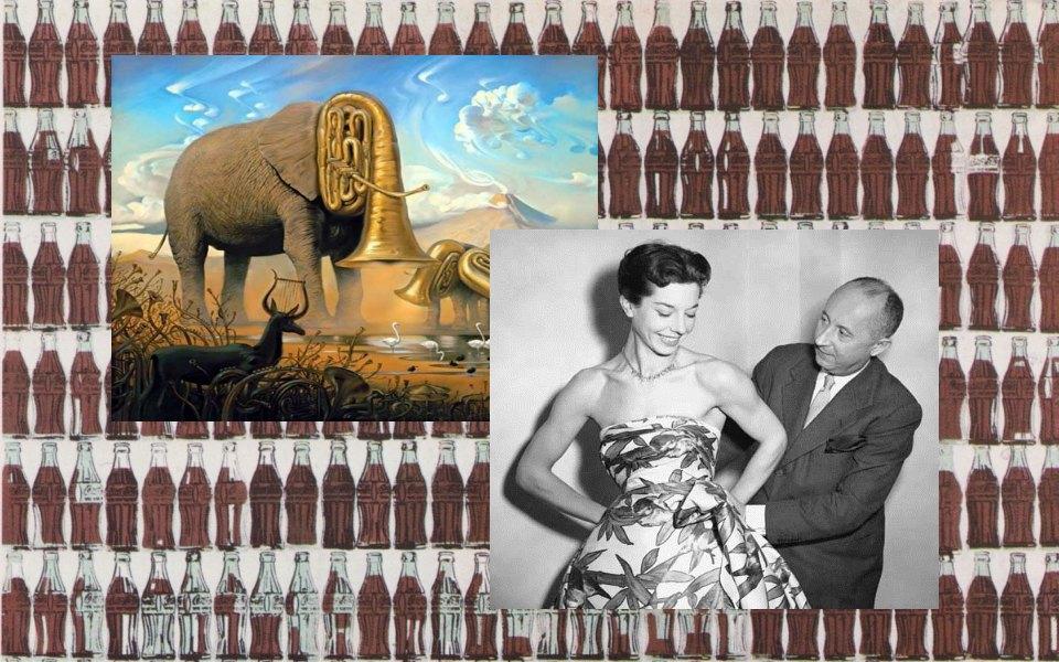 Картины Энди Уорхола, картины сальвадора дали, наследие Dior. Изображение № 12.