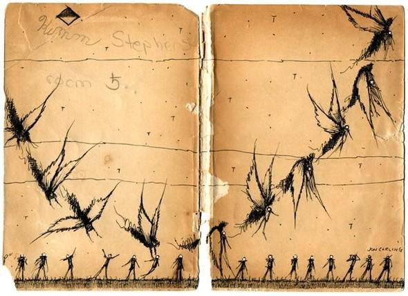Jon Carling – мистерии в гелевой ручке. Изображение № 6.