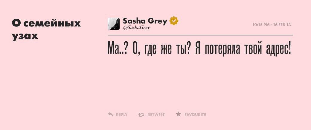 Саша Грей, девушка  многих талантов. Изображение № 3.