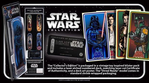 Santa Cruz представила рекламу скейтбордов Star Wars. Изображение № 1.