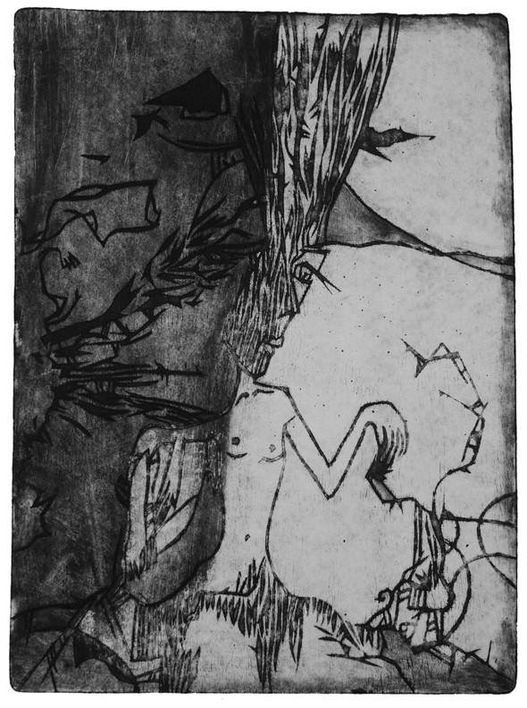Ручная графика Ирины Сазоновой «Эхо». Изображение № 18.