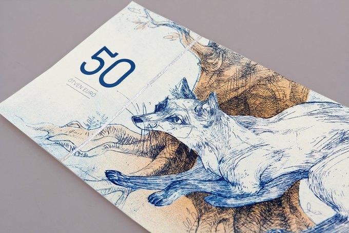Концепт дня: банкноты несуществующих венгерских евро. Изображение № 12.