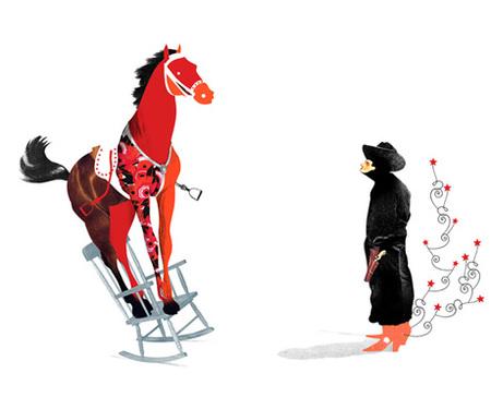 Юношеский Сюрреализм – Иллюстрации Брэтта Райдера. Изображение № 14.
