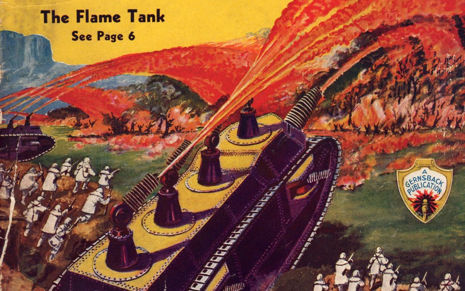 Каким представляли идеальное оружие массового уничтожения в 30-е годы. Изображение № 2.