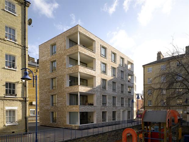 Darbishire Place (Лондон) по проекту Niall McLaughlin Architects. Изображение № 10.
